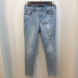 Aeropostale High Waisted Distressed Jegging